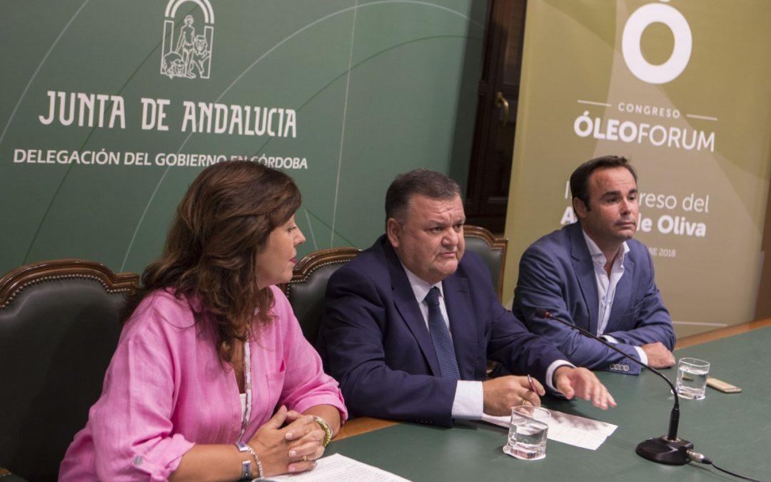 El III Óleoforum abordará las nuevas formas de gestión del olivar y la evolución de los precios del aceite